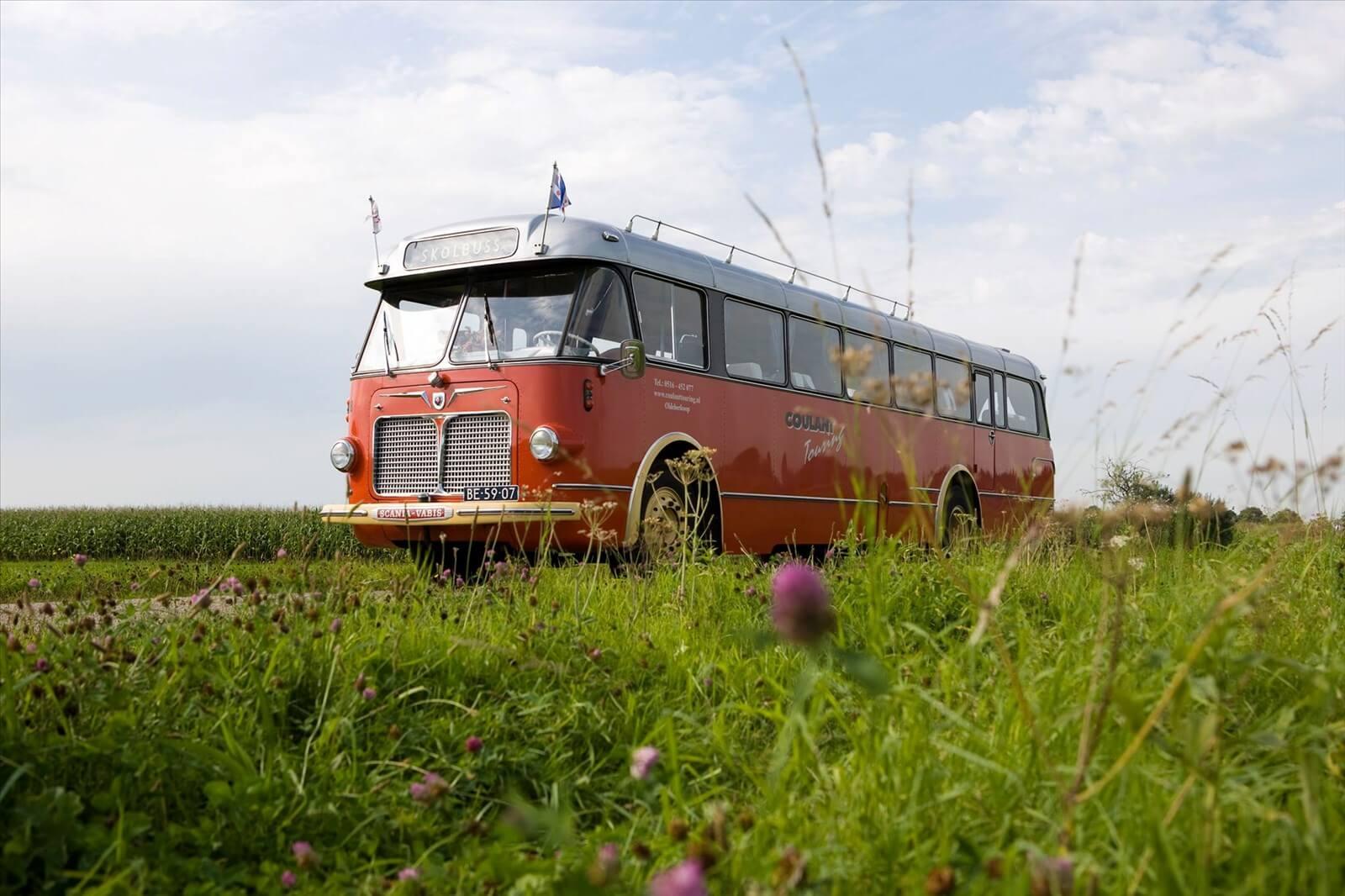 Oldtimerbus-Scania-Vabis-uit-1956